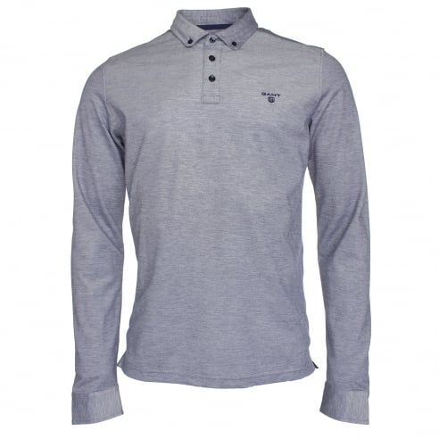 Gant Oxford Pique Long Sleeve Polo