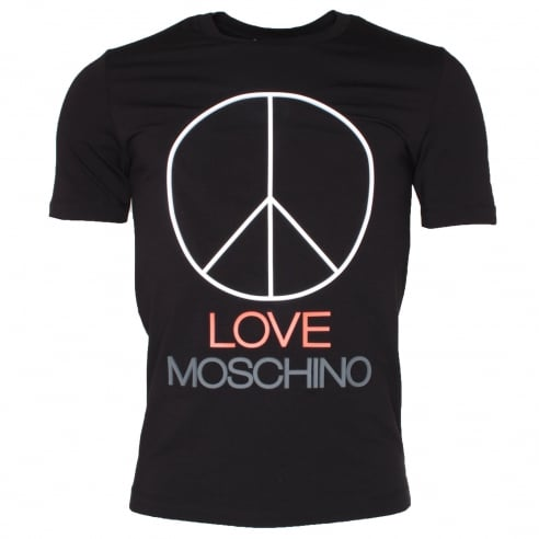 Moschino Peace Logo T-Shirt