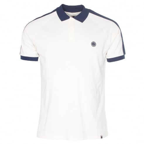 Pretty Green Pique Contrast Panel Polo