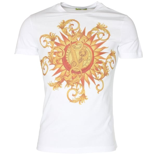 Versace jeans print 41 t shirt versace jeans from the for On site t shirt printing