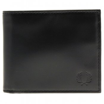 Men's Accessories L2158 Leather Billfold & Coin Wallet