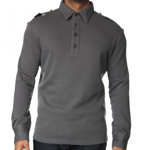 MA.Strum MA4057 Long Sleeve Polo Shirt