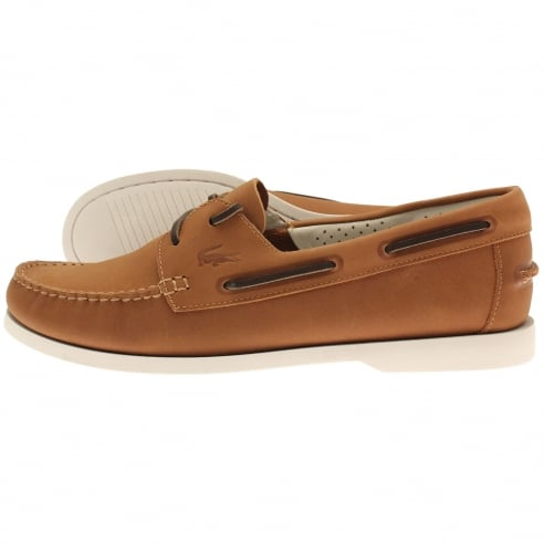 cd38820ed8 lacoste ramer leather boat shoes| CADDZOOM