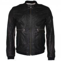 BOSS Orange Jolis Leather Jacket