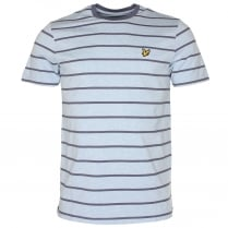 Lyle & Scott Birdseye Stripe T-Shirt