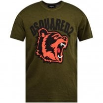 DSQUARED2 Bear Logo T-Shirt