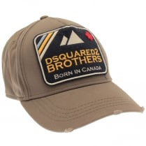 DSQUARED2 Brothers Patch Cap