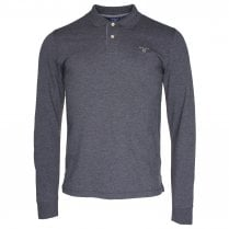 Gant Contrast Long Sleeve Polo