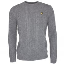 Lyle & Scott KN511V Cable Knit Sweater