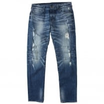 True Religion MD100ZY2 Geno Biker Jeans