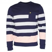 Lyle & Scott ML806V Stripe Sweater