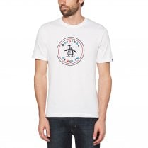 Original Penguin Multi Colour Stamp Logo T-Shirt