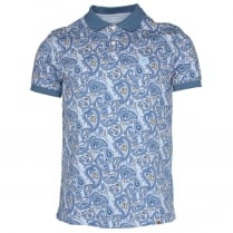 Pretty Green Paisley Print Polo