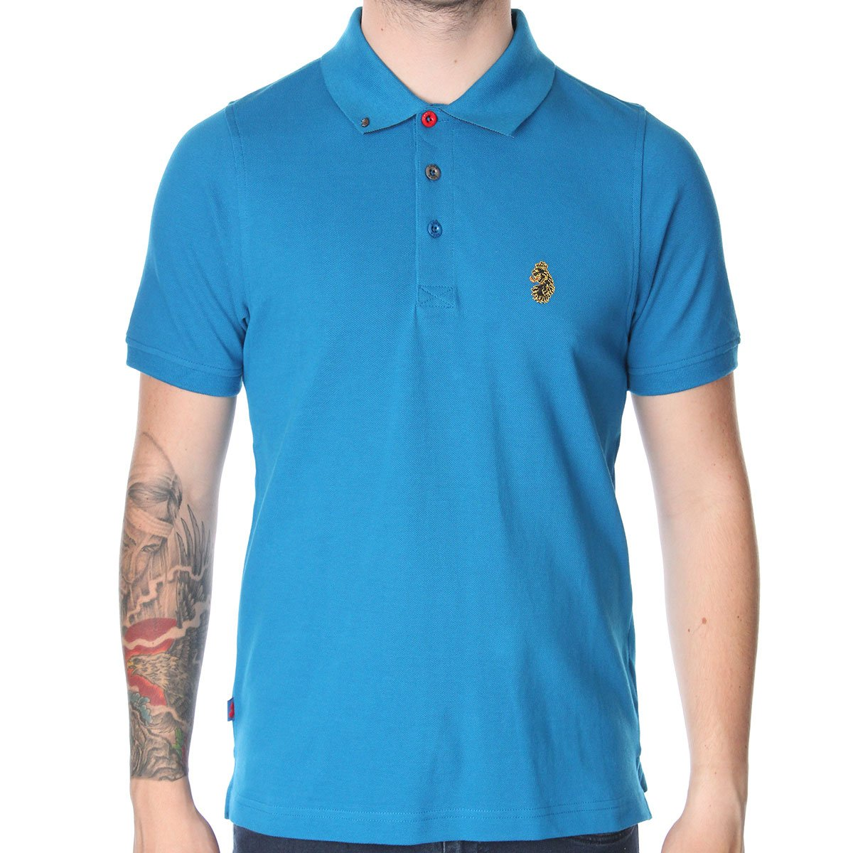 Luke 1977 williams aw12 polo t shirt various colours for Luke donald polo shirts