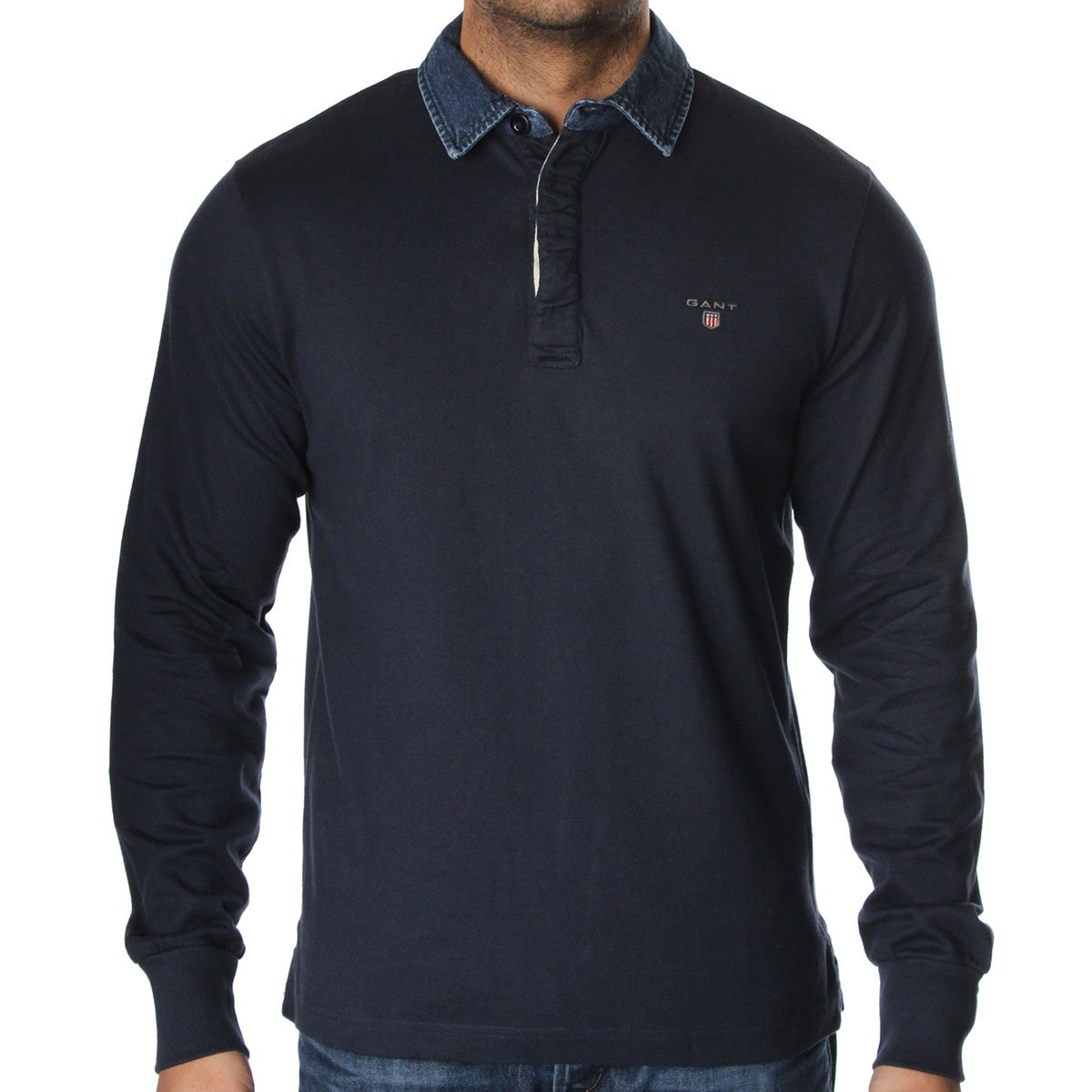 Gant Heavy Rugby Polo T Shirt Gant From The Menswear Site Uk