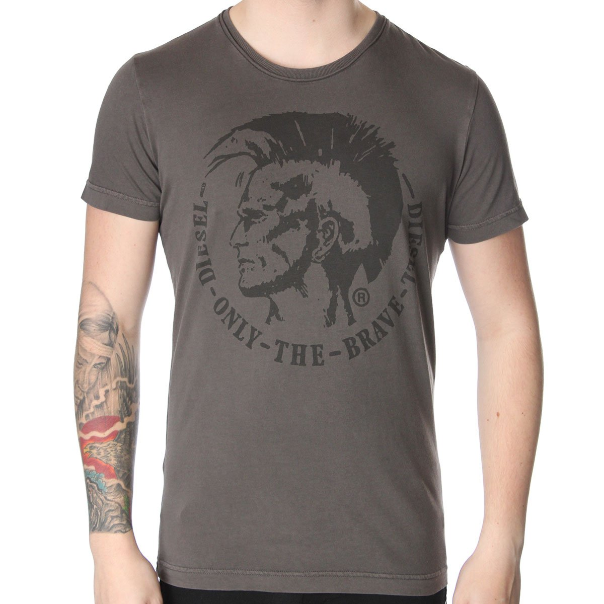 diesel t achel rs t shirt t shirts from the menswear site uk. Black Bedroom Furniture Sets. Home Design Ideas
