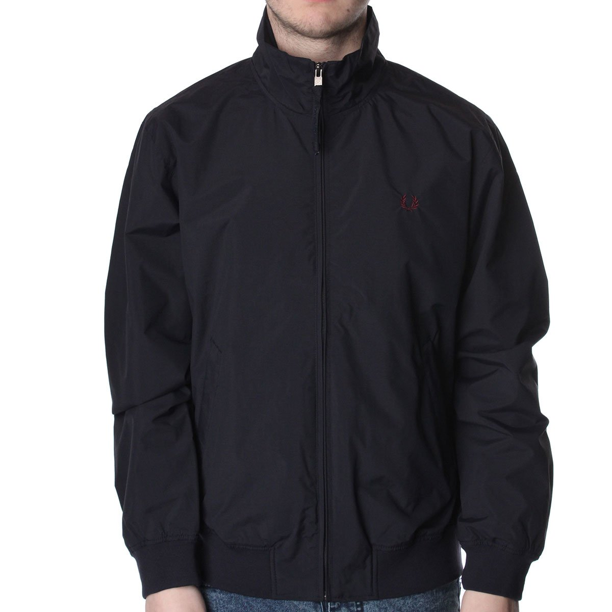 fred perry j7223 sailing jacket fred perry from the menswear site uk. Black Bedroom Furniture Sets. Home Design Ideas