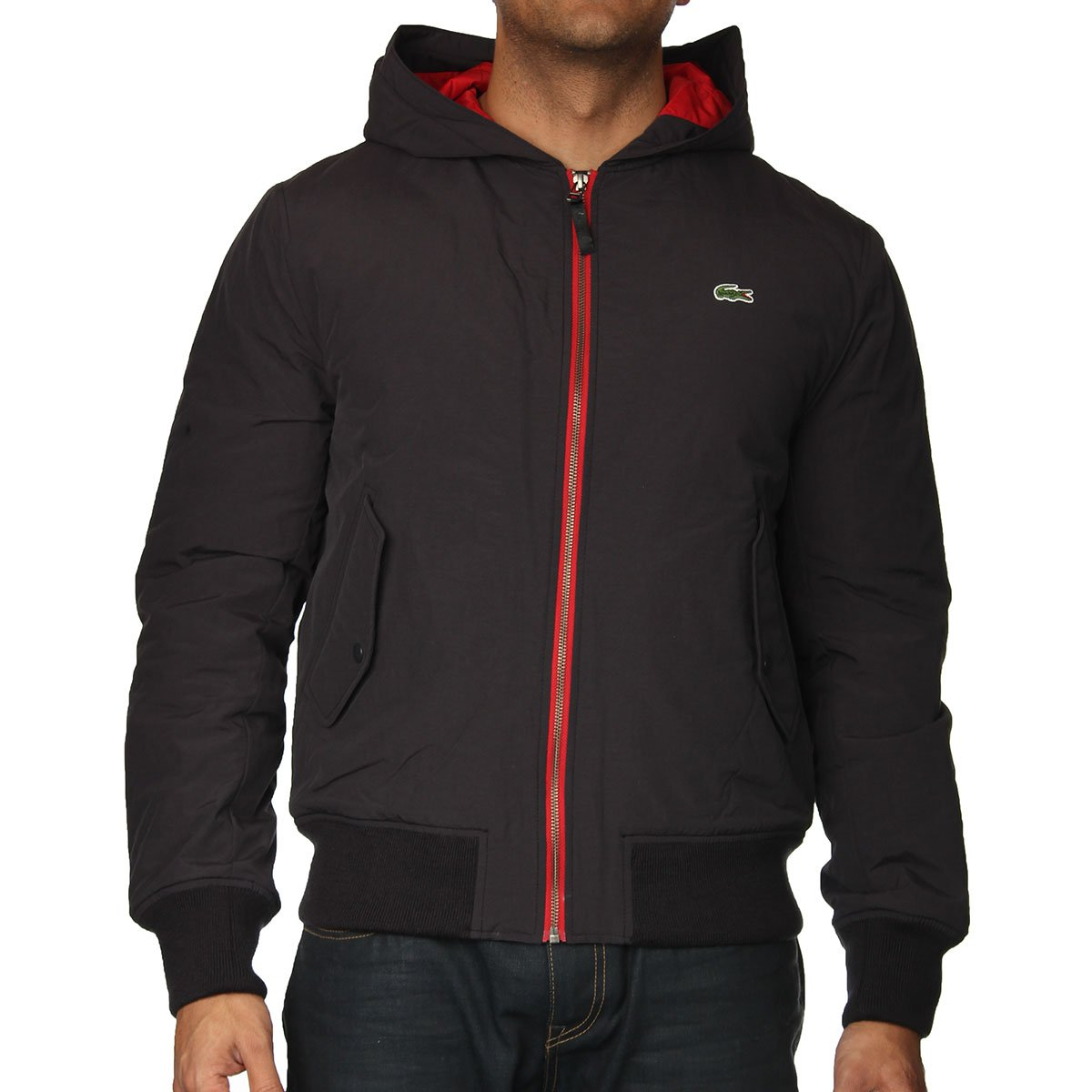 lacoste bh3350 jacket lacoste from the menswear site uk. Black Bedroom Furniture Sets. Home Design Ideas
