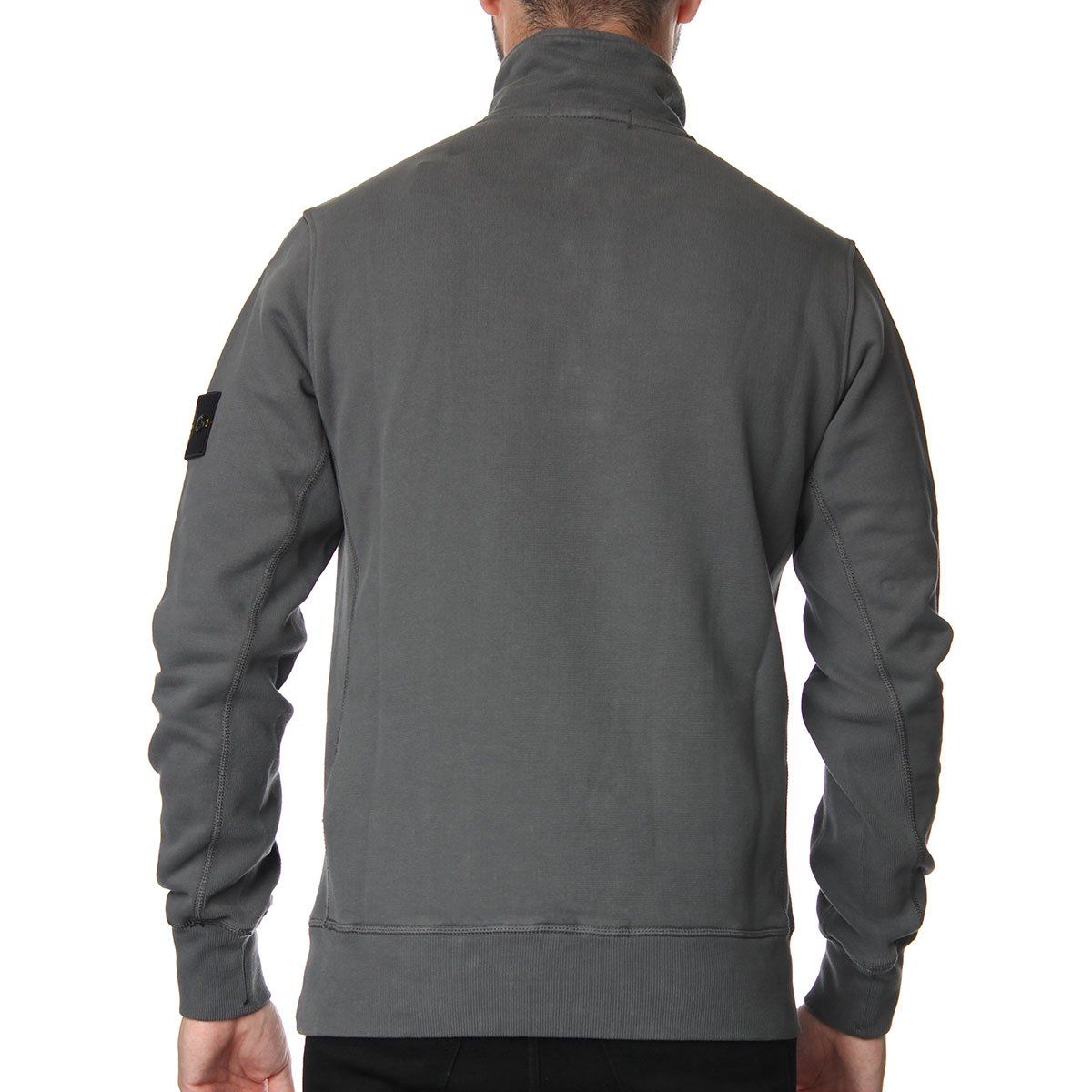 stone island 1 4 zip sweater stone island from the menswear site uk. Black Bedroom Furniture Sets. Home Design Ideas