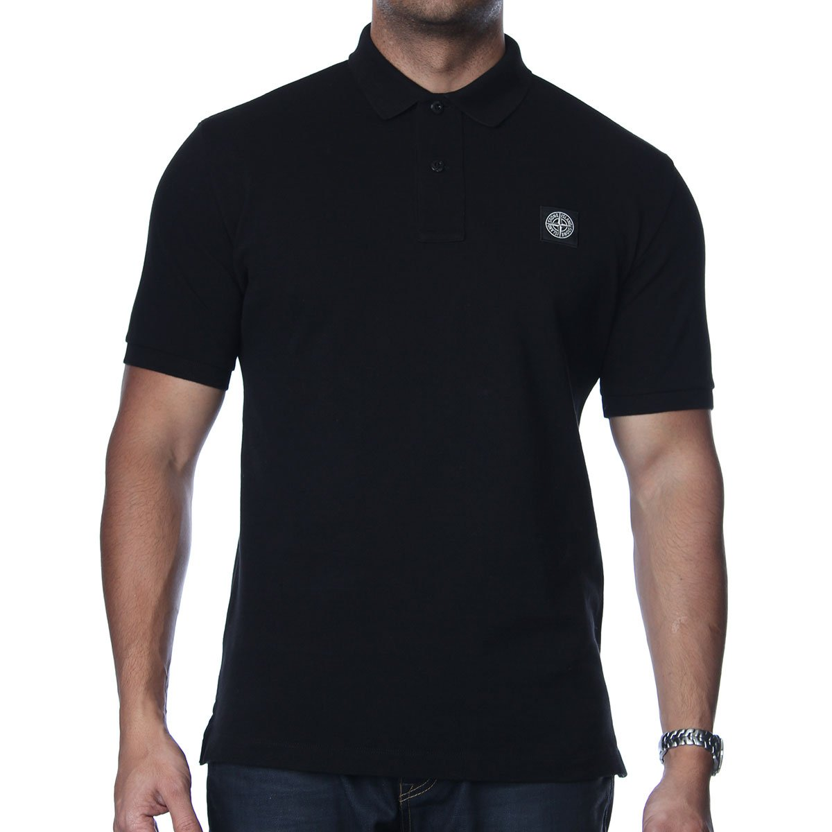 stone island regular fit polo shirt stone island from the menswear site uk. Black Bedroom Furniture Sets. Home Design Ideas