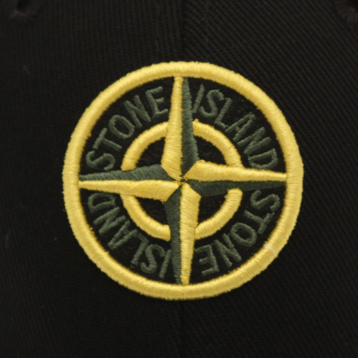 stone island logo baseball cap stone island from the menswear site uk. Black Bedroom Furniture Sets. Home Design Ideas
