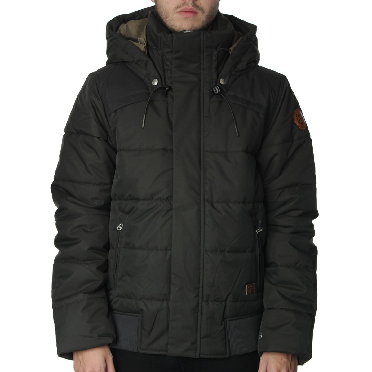 g star whistle hooded bomber jacket g star from the menswear site uk. Black Bedroom Furniture Sets. Home Design Ideas