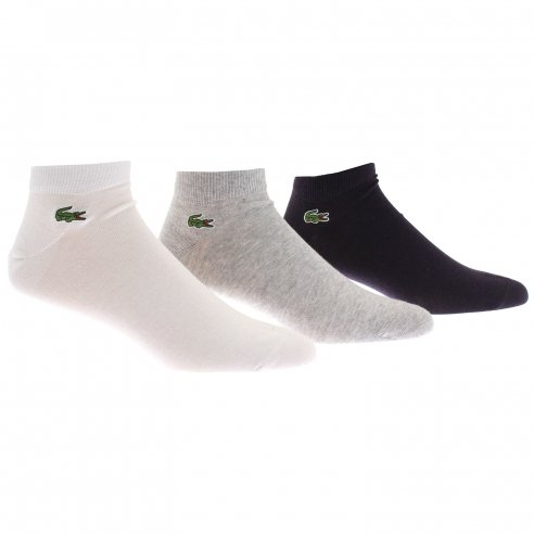 Lacoste RA1163 3 Pack Trainer Socks