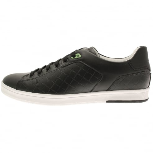 BOSS Green Ray Check Trainers