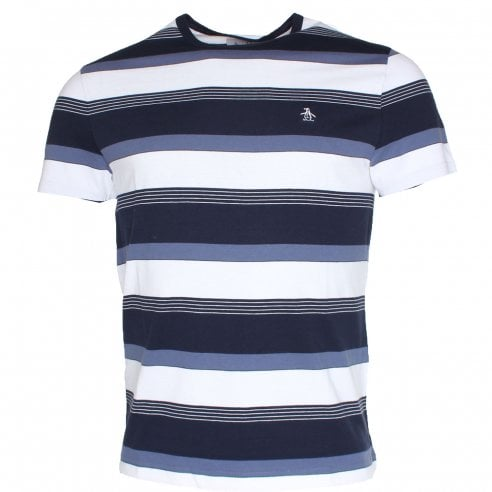 Original Penguin Road Map Stripe T-Shirt