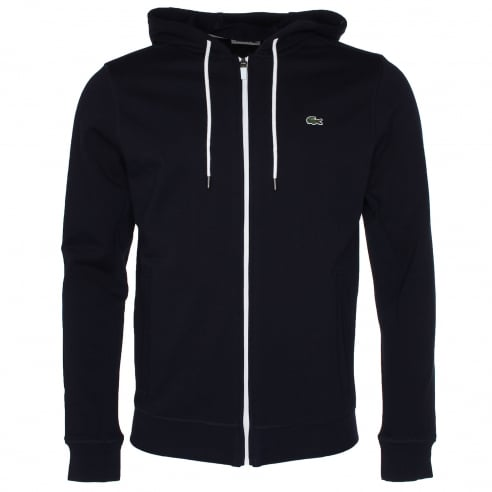 Lacoste SH5412 Zip Through Hooded Sweat