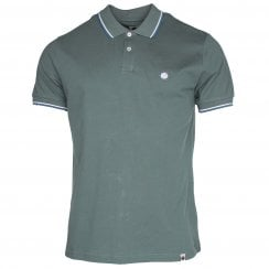 Pretty Green Short Sleeve Tip Polo