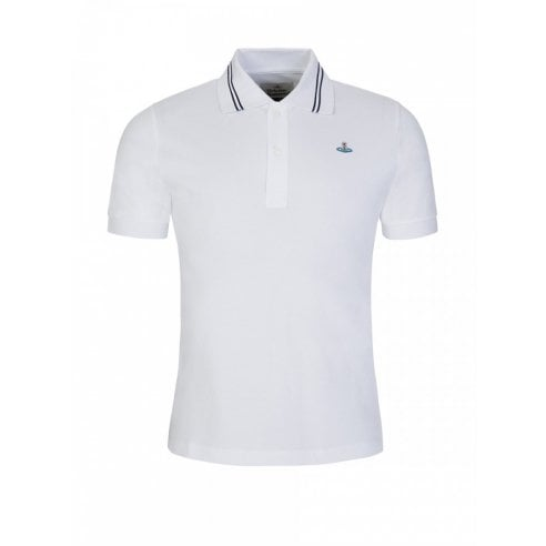Vivienne Westwood Short Sleeve Tipped Polo
