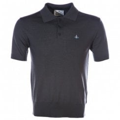 Vivienne Westwood Short Sleeved Knitted Polo