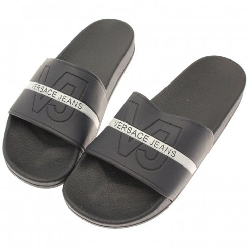 da545a90bd9f Versace Jeans Sliders - Versace Jeans from The Menswear Site UK