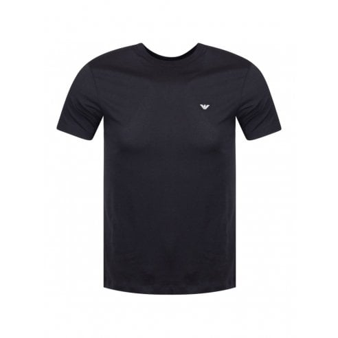 Emporio Armani Small Eagle Logo Crew Neck T-Shirt