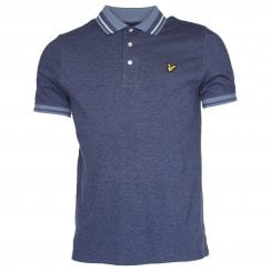 Lyle & Scott SP805V Oxford Tip Polo