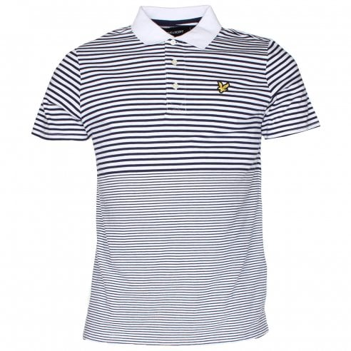 Lyle & Scott SP809V Stripe Polo