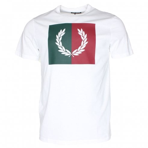 Fred Perry Split Laurel T-Shirt