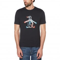 Original Penguin Stars And Stripes Geo Print Penguin T-Shirt