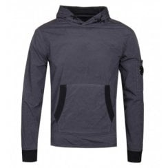 C.P. Company Stretch Nylon Pullover Hoodie
