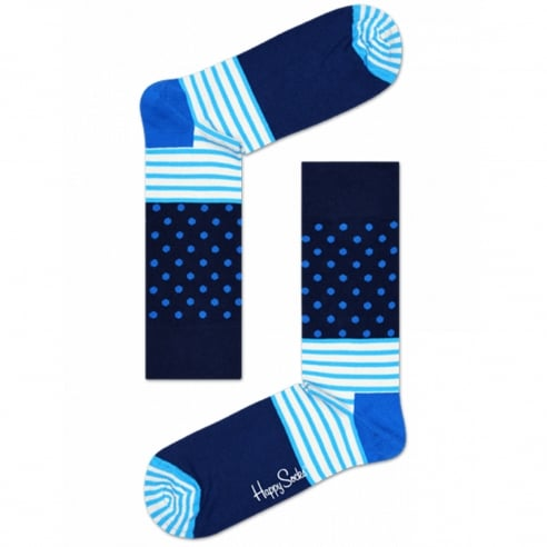 Happy Socks Stripe Dot Socks