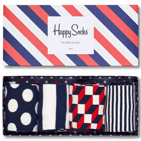 Happy Socks Stripe Socks Gift Box