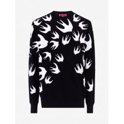 McQ Swallow Swarm Sweatshirt