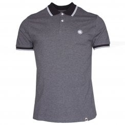 Pretty Green Tipped Collar Polo