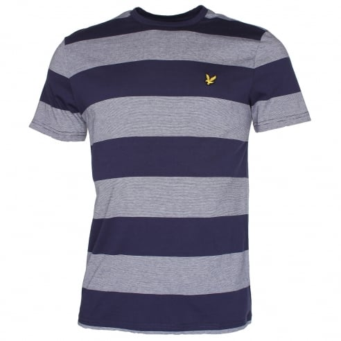 Lyle & Scott TS507V Wide Stripe T-Shirt