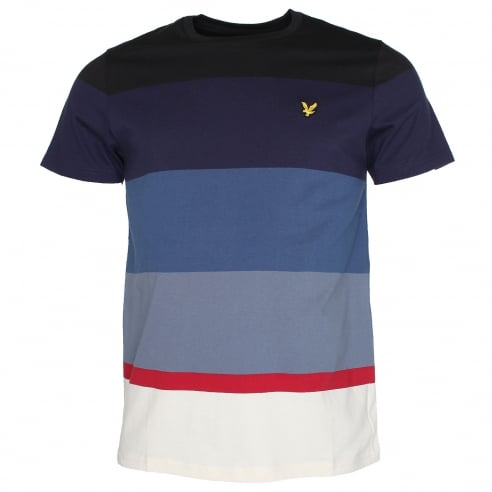 Lyle & Scott TS527V Engineered Stripe T-Shirt