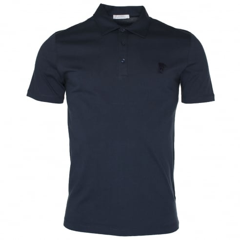Versace Collection V800708 Medussa Logo Polo T-Shirt