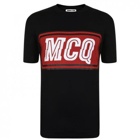 McQ Varsity Badge T-Shirt