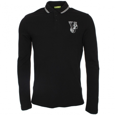 Versace Jeans VJ Tipped Polo T-Shirt - Versace Jeans from The Menswear Site  UK 7f7f968146d