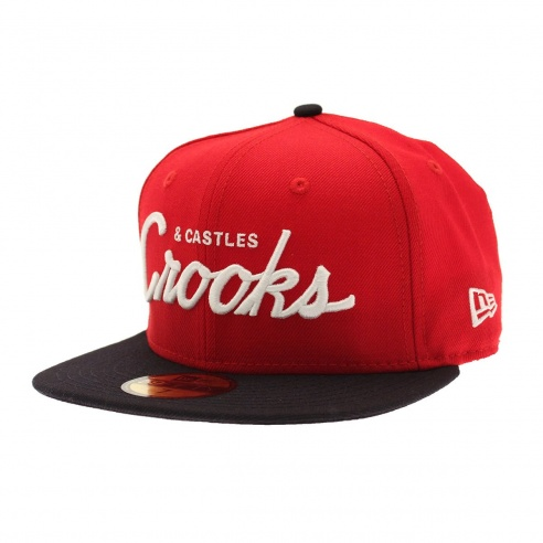 Crooks and Castles Woven Cap